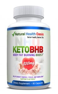 NHO Keto BHB ketosis supplement font