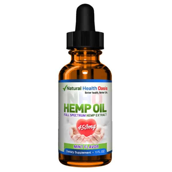 NHO Full Spectrum Hemp Oil Extracts front