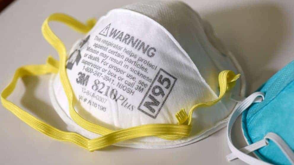 Coronavirus N95 Mask