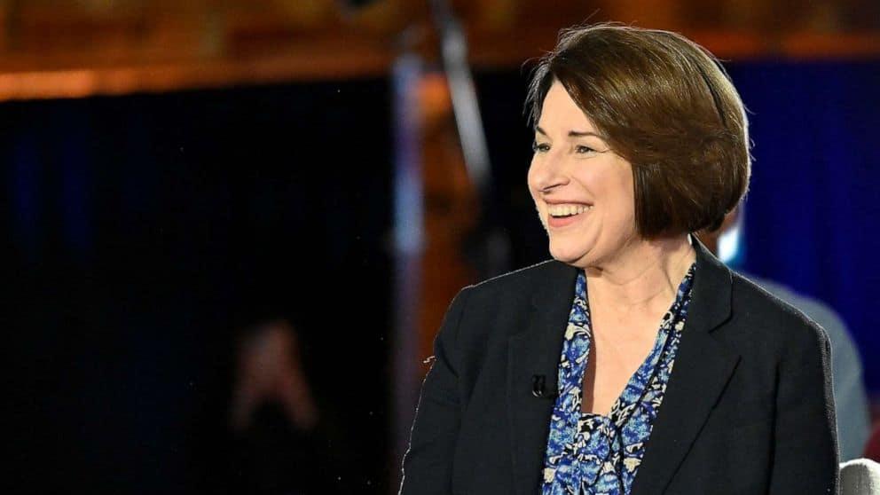 Amid pandemic, country lacks national leadership: Sen. Amy Klobuchar